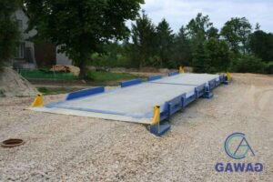wagi samochodowe stalowo-betonowa